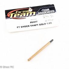 AE6417 Team Associated B4 Factory Team Unobtainium Shock Shaft 1.02 ASC6417
