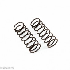 Team Associated Small Bore Brown Front Springs 2.80lb (2)