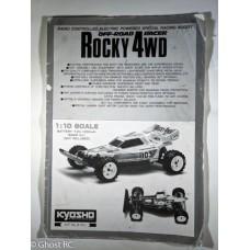 Kyosho Rocky Manual - Vintage