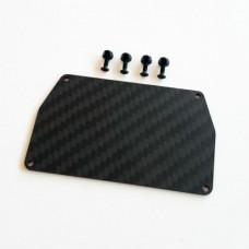 Rusti Design B6/B6D Carbon Fibre ESC Mounting Plate AR00175
