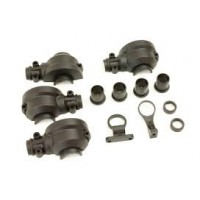 TD310458 Team Durango DEX410 Gear Box Set (Front & Rear)