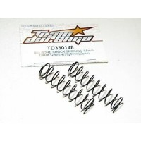 TD330148 Team Durango DEX410 Big Bore Shock Springs 65mm DARK GREEN (39gr/mm)