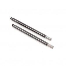 TD330258 Team Durango Titanium Nitride Rear Shock Shaft (52mm) Black (2)