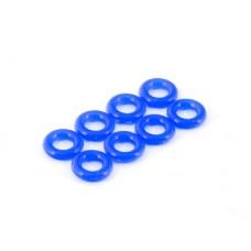 TD330611 Team Durango Silicone O-Ring P-4 (4x2mm 8pcs) S30 Blue