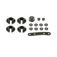 TD390026 Team Durango Spring Retainer. Battery Holder Distance Bushing & Shim Set