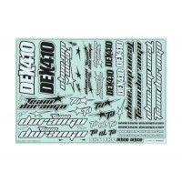 TD490035 Team Durango DEX410 Decal Sheet