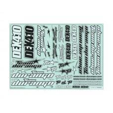 TD490035 Team Durango DEX410 Decal Sheet