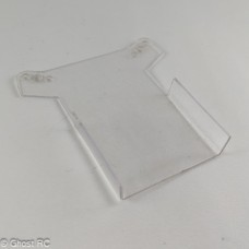 Front wing for a Team Losi XXX-BK2