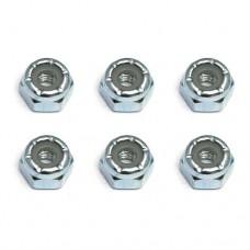 AE6952 Team Associated Locknuts, 8-32, steel