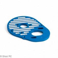 AE9865 Team Associated FT Milled Motor Plate, blue