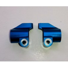 TRI33003 Trinity B4 0-degree Blue Aluminum Rear Hubs
