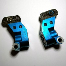 AE9865 Team Associated Factory Team Alloy Rear Hubs 0.5 Deg