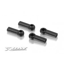 302665 Xray Composite Ball Joint 4.9mm - Closed with Hole (4)