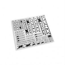 397311 Xray Sticker For Body - White