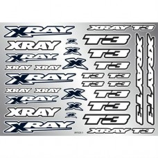 397325 Xray T3 Sticker For Body - White